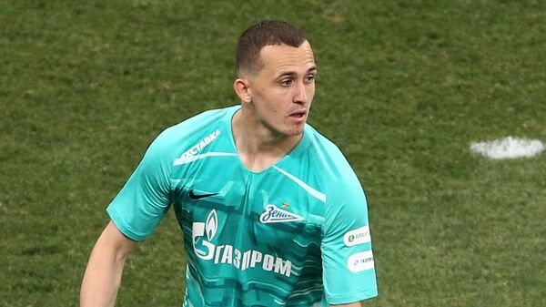 Вратарь Зенита Андрей Лунев