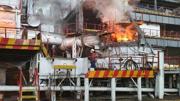 Светлинский ферроникелевый завод в Оренбуржье возобновил работу