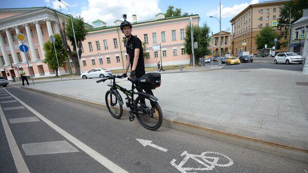 Велопатруль запустили в Москве