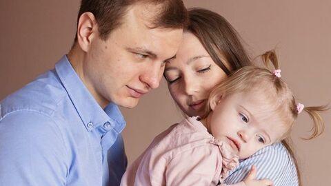 Мирослава с родителями