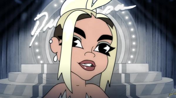 Кадр из клипа Dua Lipa - Hallucinate