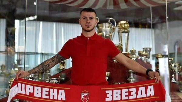 Игрок ФК Црвена Звезда Срджан Спиридонович