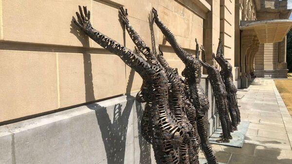 Экспонаты в Королевском музее Африки в Бельгии
