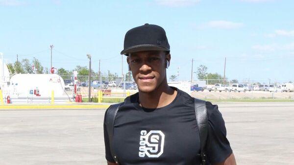 Защитник клуба НБА Лос-Анджелес Лейкерс Рэджон Рондо
