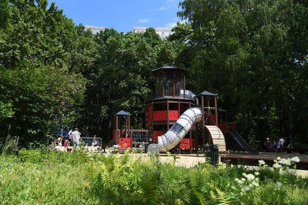Парк Дубки в Москве
