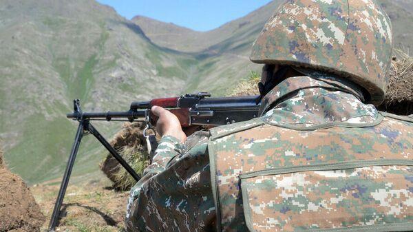 Армянский военнослужащий