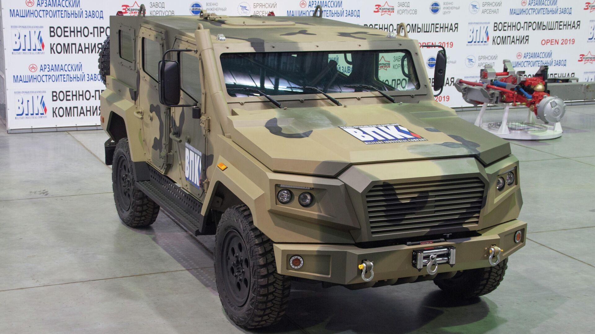 """ВПК планирует создать """"русский Land Cruiser"""" на базе броневика """"Стрела"""""""