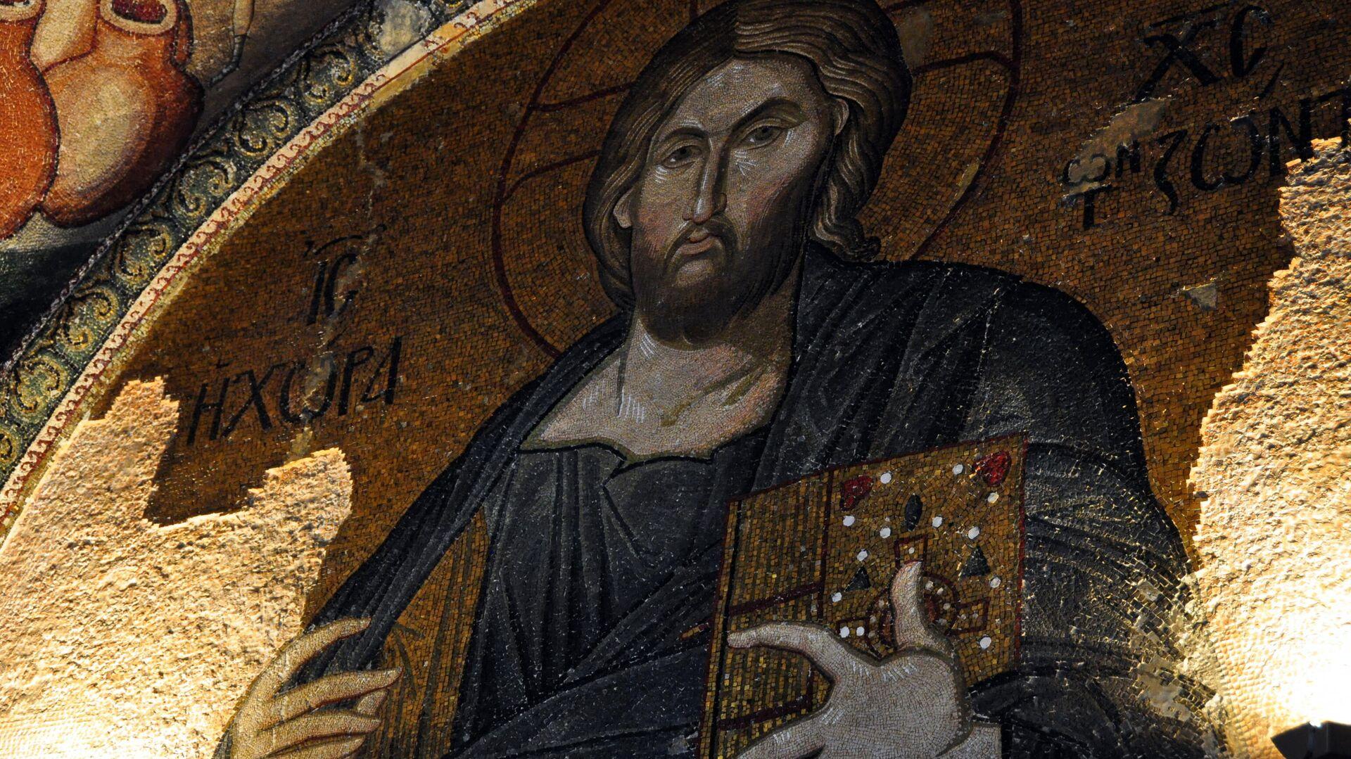 Мозаика в соборе Святой Софии в Стамбуле - РИА Новости, 1920, 24.02.2021