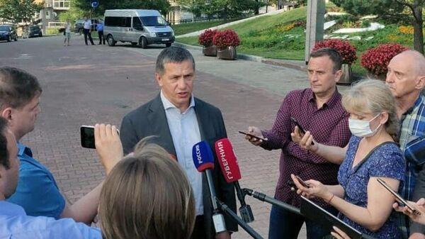 Рабочая поездка полномочного представителя президента РФ в ДФО Юрия Трутнева в Хабаровск