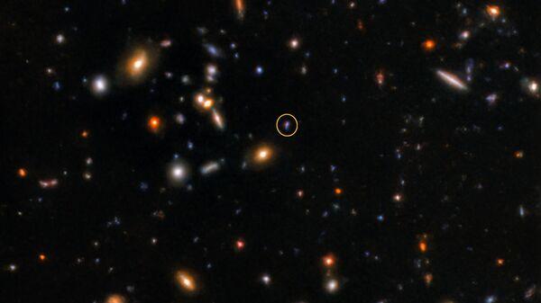 Астрономы обнаружили самый далекий гамма-всплеск во Вселенной