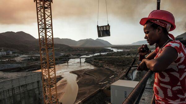 Строительство плотины Возрождение на Ниле в Эфиопии