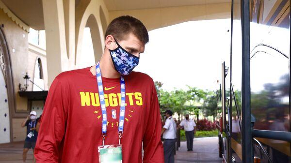 Баскетболист клуба НБА Денвер Наггетс Никола Йокич