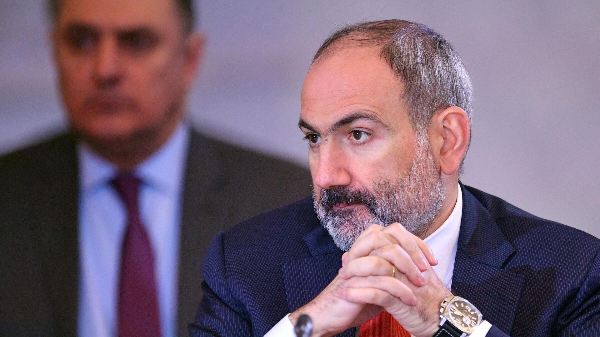 Премьер-министр Армении Никол Пашинян - РИА Новости, 1920, 14.10.2020