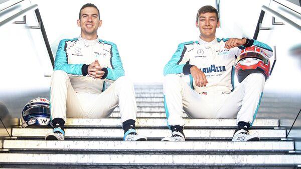 Пилоты команды Формула-1 Уильямс Джордж Расселл и Николас Латифи