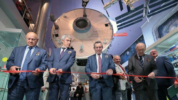 Мероприятие в Мемориальном музее космонавтики, посвященноме 45-летнему юбилею стыковки космических кораблей Союз-19 и Аполлон