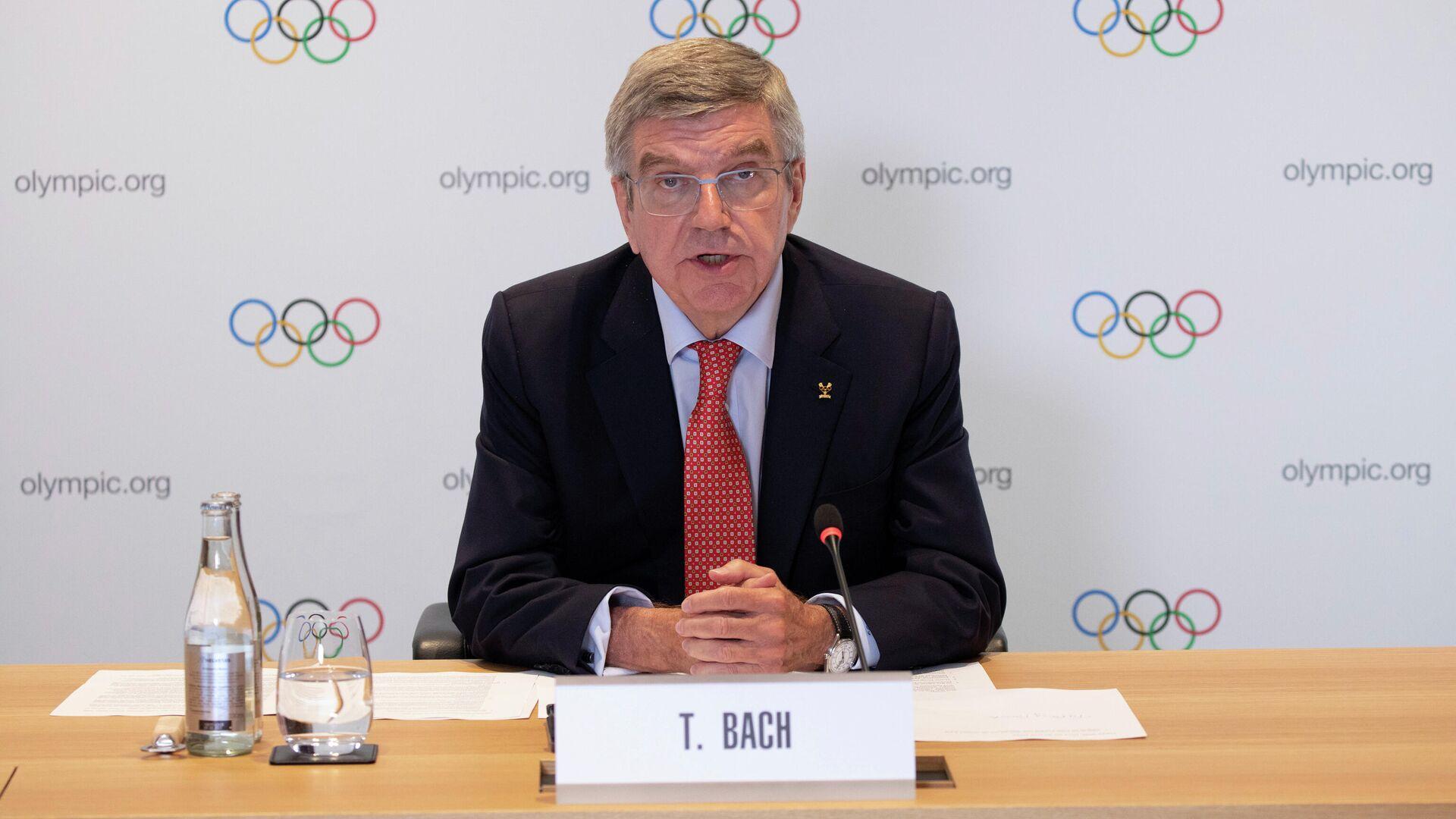 Президент Международного олимпийского комитета Томас Бах - РИА Новости, 1920, 23.07.2020