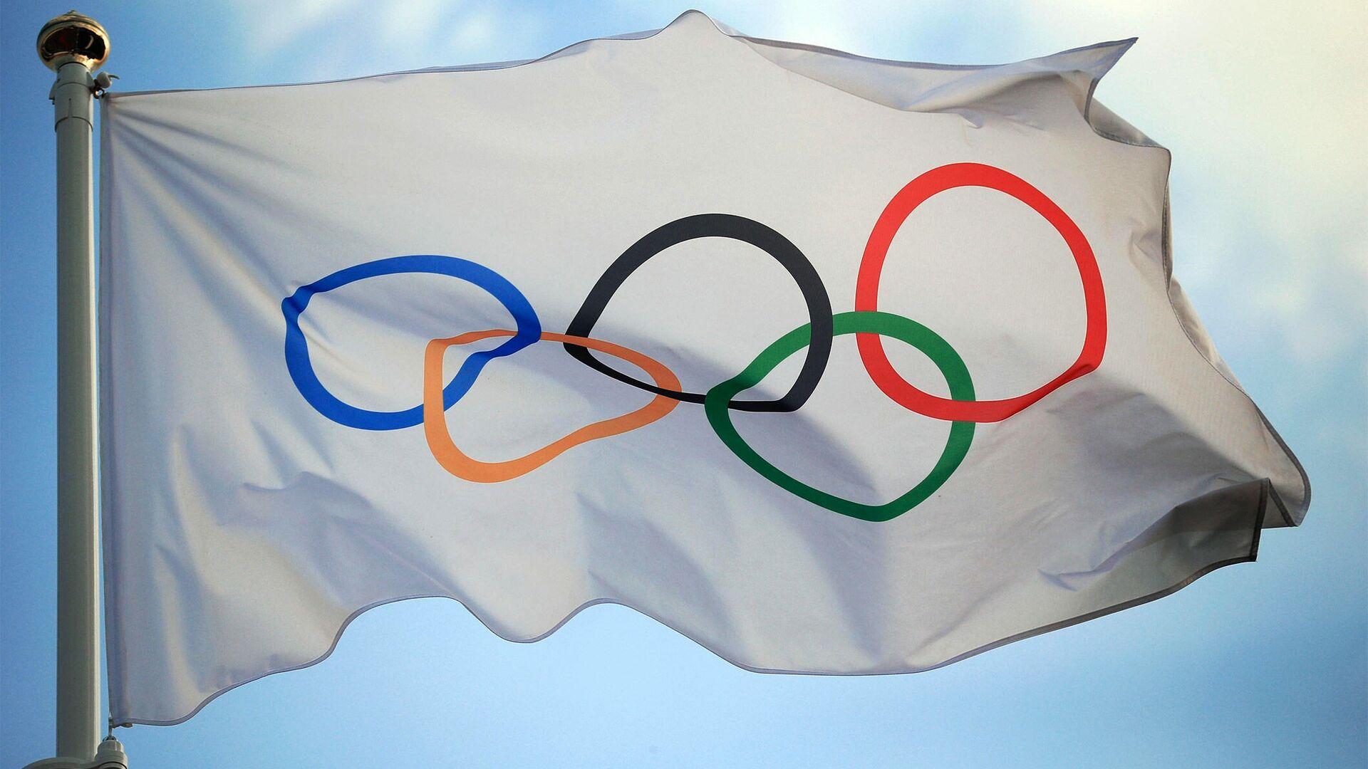 Олимпийский флаг - РИА Новости, 1920, 27.11.2020