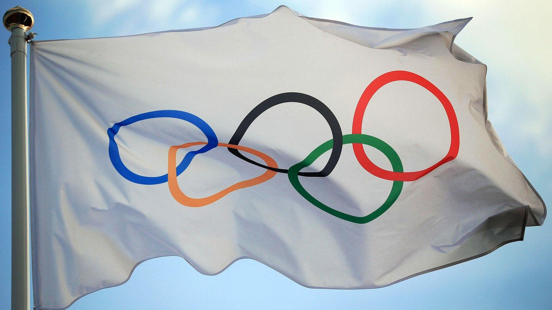 Олимпийский флаг - РИА Новости, 1920, 22.01.2021