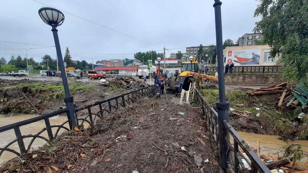 В городе Нижние Серги в Свердловской области ввели режим ЧС из-за паводка