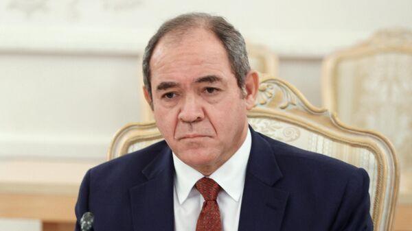 Министр иностранных дел Алжира Сабри Букадум
