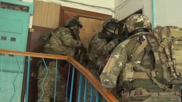 Спецоперация против боевиков ИГ в Кабардино-Балкарии. Кадры ФСБ