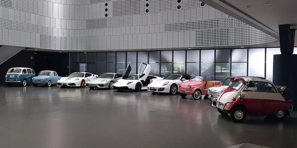 Конфискованные автомобили в Автомобильном музее Турина