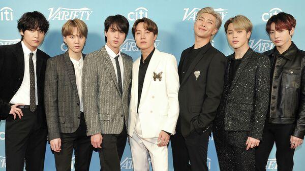Участники группы BTS
