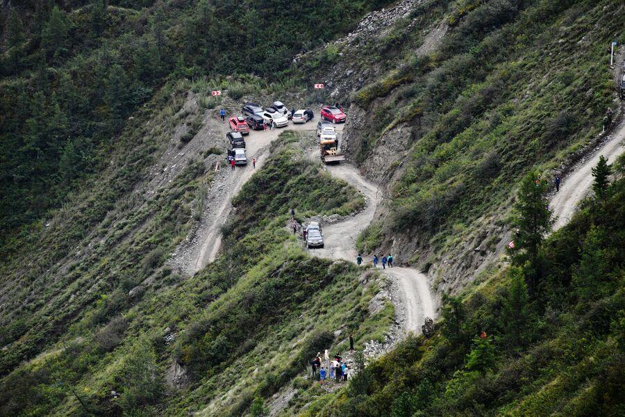 Перевал Кату-Ярык в Республике Алтай