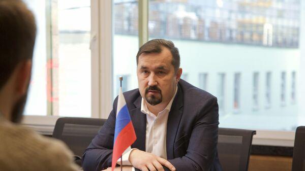 Директор Люберецких очистных сооружений (ЛОС) Сергей Новиков