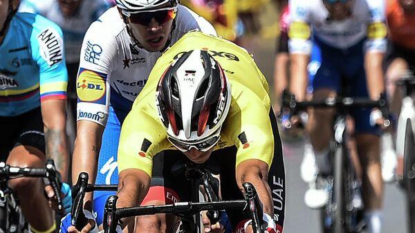 Велогонщик Себастьян Молано (Колумбия)