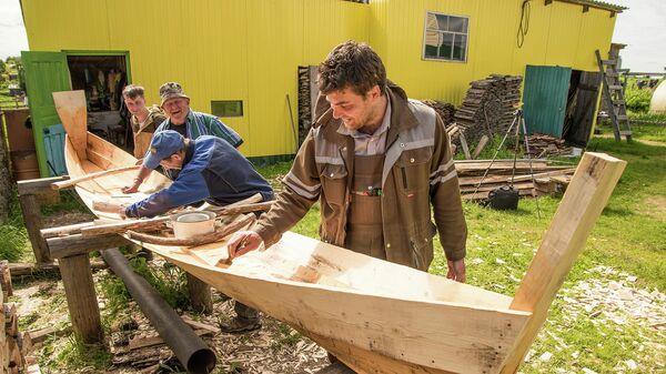 Лодка-зырянка для нового музея