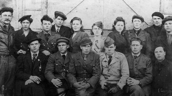 Советские партизаны в рядах французского Движения Сопротивления