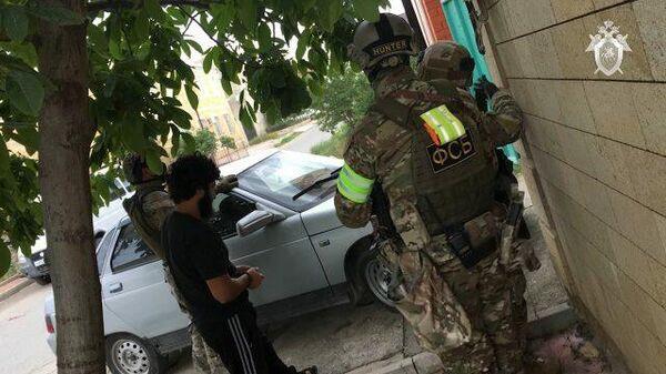 Кадры задержания пяти участников террористического сообщества