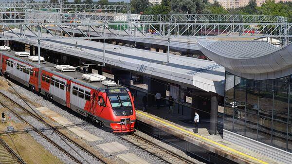 Станция Нахабино Курско-Рижского диаметра МЦД-2