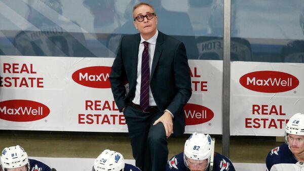 Главный тренер клуба НХЛ Виннипег Джетс Пол Морис