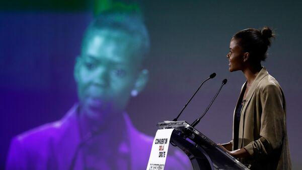Американская активистка Кэндис Оуэнс