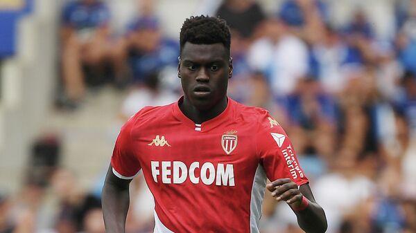Футболист Монако Бенуа Бадиашиле
