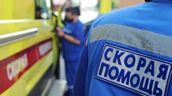 Работа станции скорой медицинской помощи в Тамбове