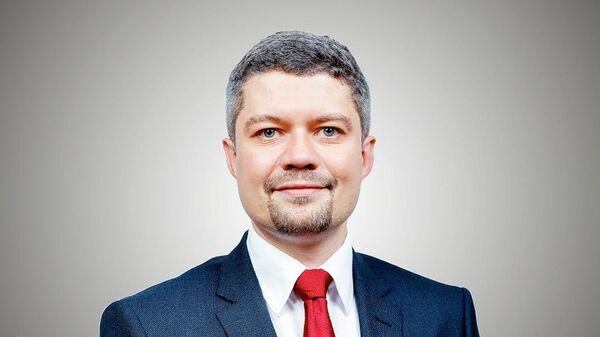 Исполнительный директор Спартака Максим Власов.