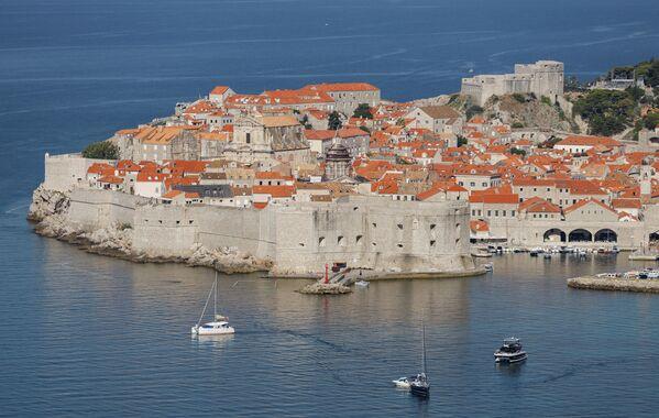 Вид на Дубровник, Хорватия