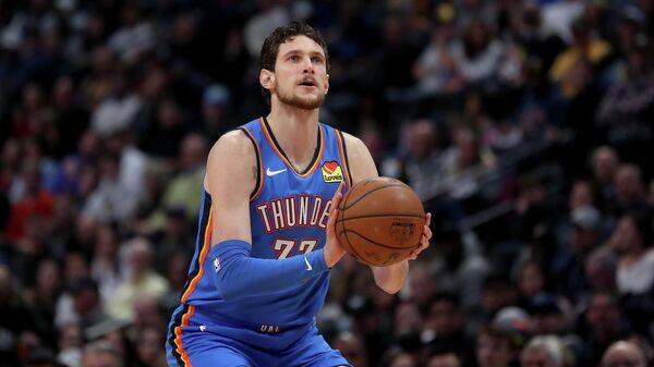 Баскетболист клуба НБА Оклахома-Сити Майк Мускала