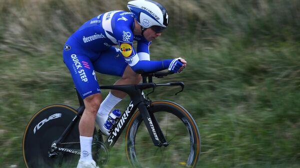 Нидерландский велогонщик команды Deceuninck-QuickStep Фабио Якобсен