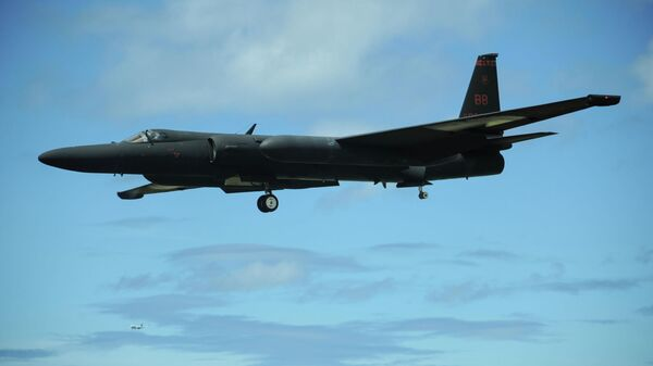 Американский высотный самолет-разведчик Lockheed U-2