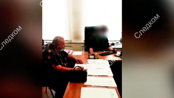 Житель Воронежа подозревается в реабилитации нацизма. Съемка СК РФ