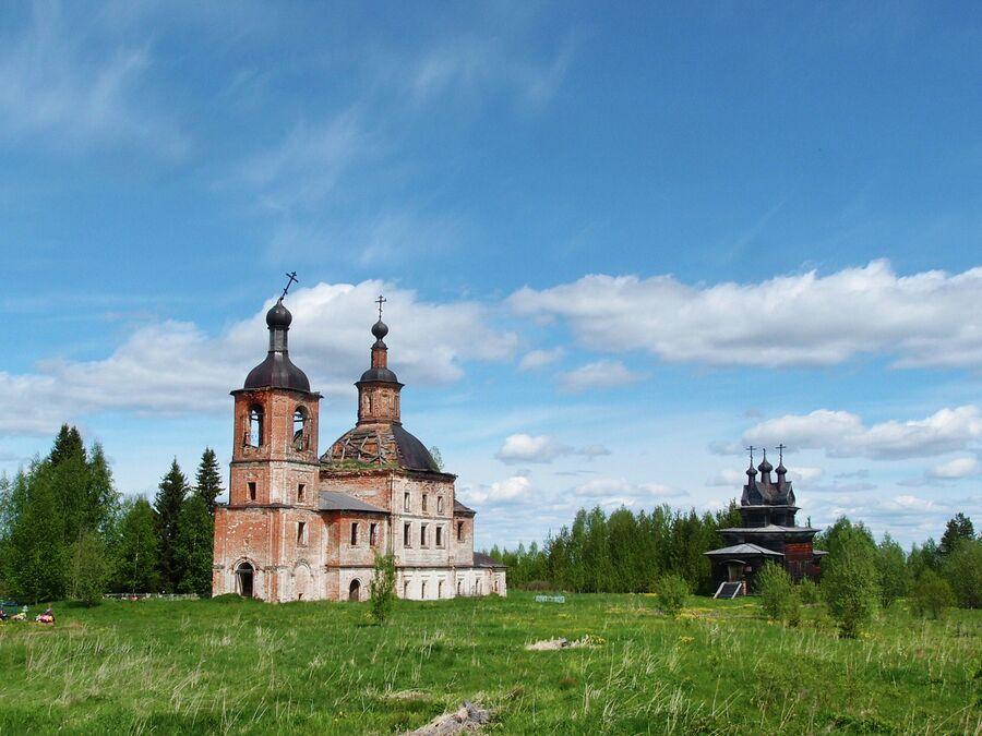 Воскресенская и Георгиевская церкви