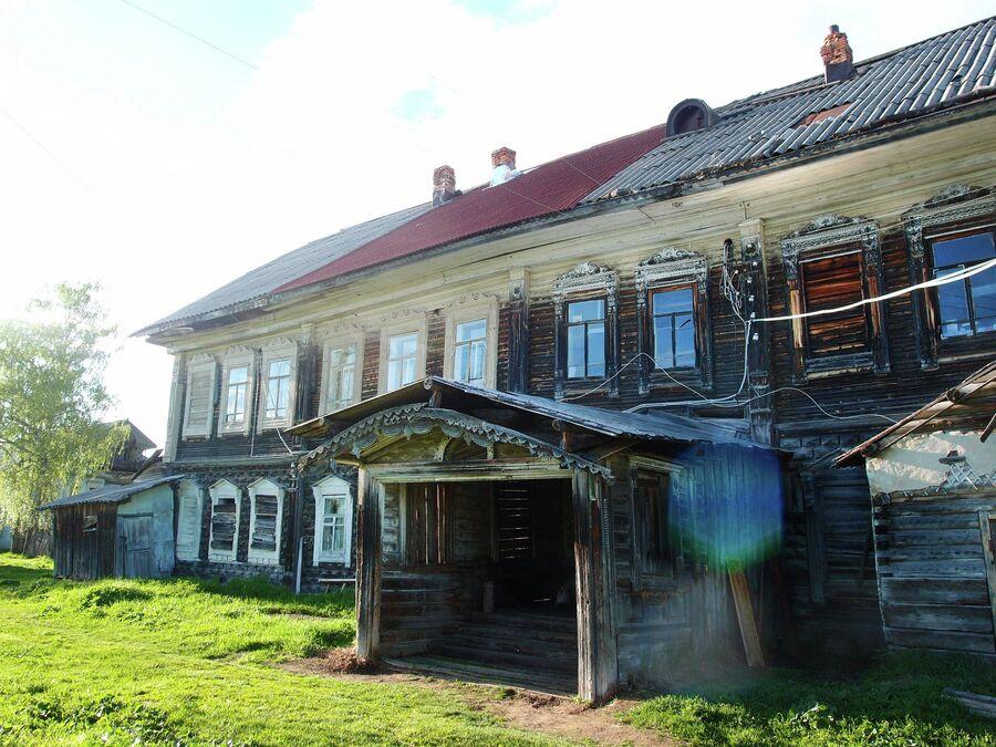 Дома Гусевых