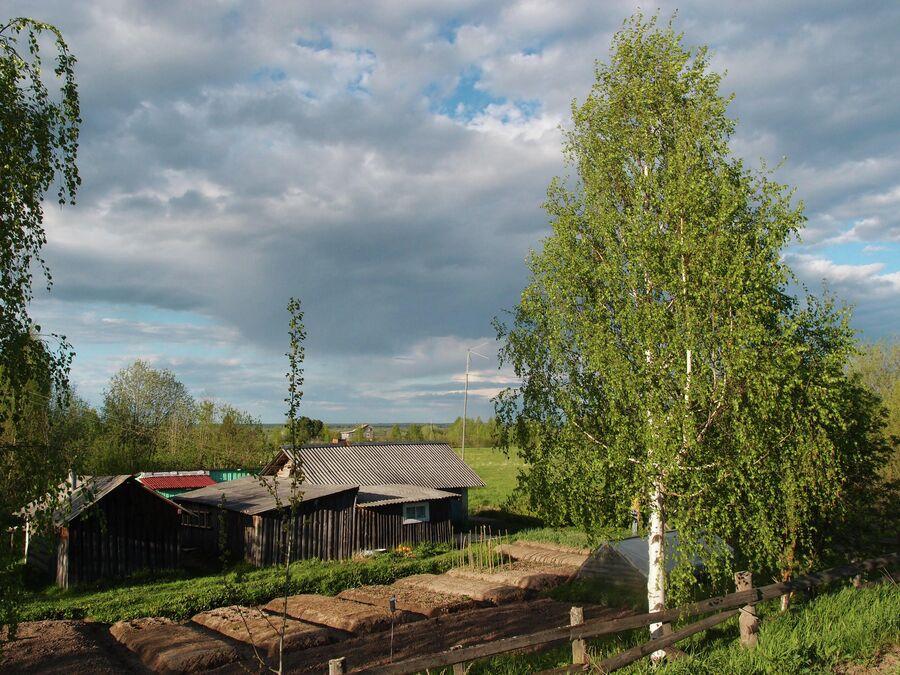 Вид села Черевково