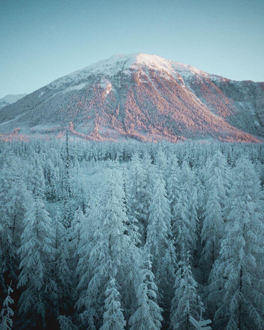 Горы у трассы Колыма