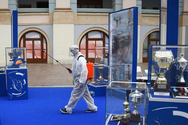 На выставке всероссийского форума Здоровье нации — основа процветания России в торгово-выставочном комплексе Гостиный двор в Москве