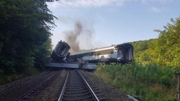 Крушение поезда в Шотландии